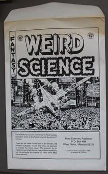 WEIRD SCIENCE - Fantasy - EC Print Portfolio; (contains 22 Prints in envelope)