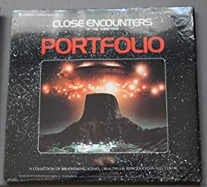 Close Encounters of the Third Kind Original Movie Program & Portfolio - Collection 18 Breathtakin...