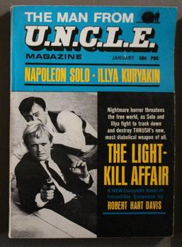 MAN FROM U.N.C.L.E. MAGAZINE. Volume 2 #6. January / 1967 { Uncle TV Series Tie-In Pulp Digest } ...