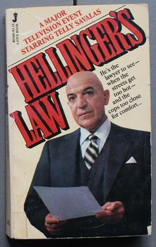 HELLINGER'S LAW. - Major TV Event Starring Telly Savalas. ( Kojak )