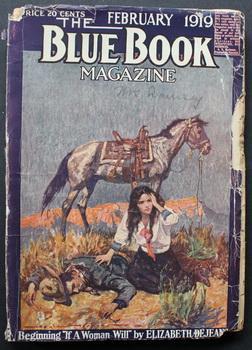 BLUE BOOK (Pulp Magazine). February 1919; --: Octavus Roy Cohen