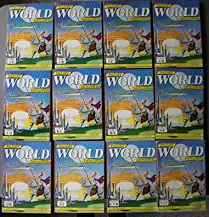 PICTURE WORLD ENCYCLOPEDIA Set of #1-12 (1959; COMIC BOOK Format Style, Similar to Classic Illust...