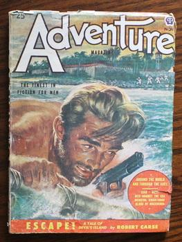 ADVENTURE (Pulp Magazine). November 1951; -- Volume: Alexander Wallace; Jack