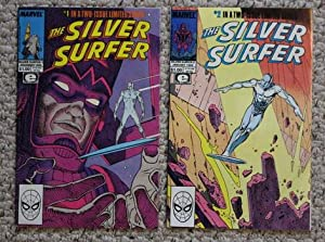 SILVER SURFER in PARABLE Set of #1(December/1988;: STAN LEE and