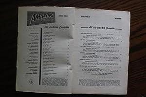 AMAZING STORIES (Pulp Magazine). June 1951; --: Rog Phillips; H.