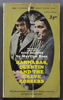 DARK SHADOWS - (#28); Barnabas, Quentin and the Grave Robbers : (Dan Curtis Production Television...