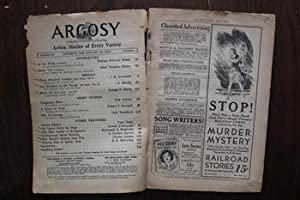 ARGOSY (Pulp Magazine). January 30 / 1932;: William Edward Hayes;