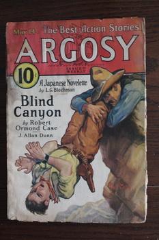 ARGOSY (Pulp Magazine). May 14 / 1932;: Robert Ormond Case;
