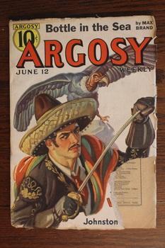 ARGOSY WEEKLY (Pulp Magazine). June 12 /: Johnston McCulley;W. Ryerson