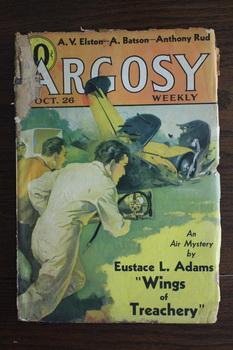 ARGOSY (Pulp Magazine). October 26 / 1935;: Eustace L. Adams;
