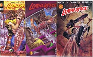 LEATHERFACE (the Texas Chainsaw Massacre III - Three; 1991; Original USA Comics); LOT of #1(April...