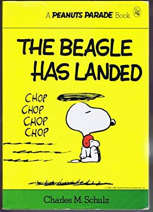THE BEAGLE HAS LANDED. (Peanuts Parade Book #22). *** SNOOPY Cover!