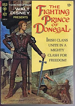 the FIGHTING PRINCE OF DONEGAL {WALT DISNEY Presents.} #10193-701 (Original title Red Hugh, Prince ...