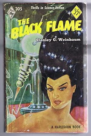 The BLACK FLAME. (#205 in the Vintage Harlequin Series) Post-Holocaust Science Fiction Story, ATO...