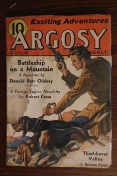 ARGOSY WEEKLY (Pulp Magazine). August 8 /: Donald Barr Chidsey;