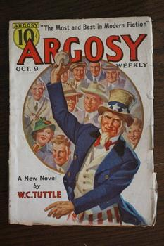 ARGOSY WEEKLY (Pulp Magazine). October 9 /: Sinclair Gluck; Charles