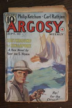 ARGOSY WEEKLY (Pulp Magazine). September 10 /: Roy deS. Horn;