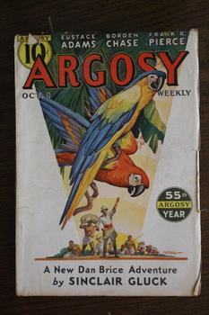 ARGOSY WEEKLY (Pulp Magazine). October 2 /: Sinclair Gluck; Charles