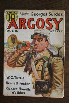 ARGOSY WEEKLY (Pulp Magazine). October 16 /: Sinclair Gluck; Charles