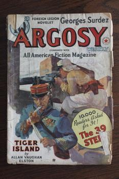 ARGOSY WEEKLY (Pulp Magazine). December 10 /: Georges Surdez; Walter