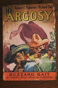 ARGOSY WEEKLY (Pulp Magazine). October 7/ 1939;: Robert E. Pinkerton;
