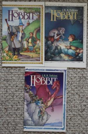 The HOBBIT (Comic Graphic Novel - Tolkien: TOLKIEN, J.R.R. (related)