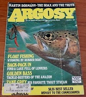 ARGOSY March 1973 Richard Bach Bormann Fishing: James Mills; Gene
