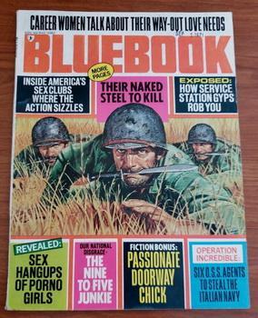BLUEBOOK November 1971 OSS Italian Navy Junkie: Ted Nolan; Mel