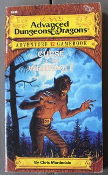 Curse of the Werewolf (Advanced Dungeons and Dragons Adventure Gamebook, No 12)