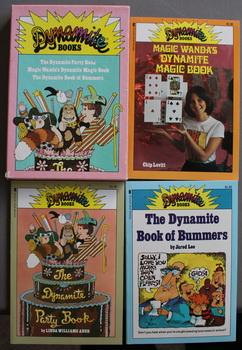 MAGIC WANDA'S DYNAMITE MAGIC BOOK / THE DYNAMITE BOOK OF BUMMERS/ THE DYNAMITE PARTY BOOK. (Schol...