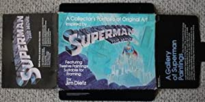 SUPERMAN THE MOVIE PORTFOLIO - A Collector's Portfolio of Original Art Inspired by Superman the M...