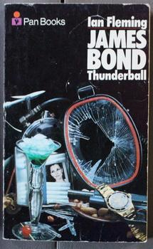 THUNDERBALL. (PAN Book Pan Still Life Series); James Bond - OO7 Adventure ; Wraparound Photo Cover.