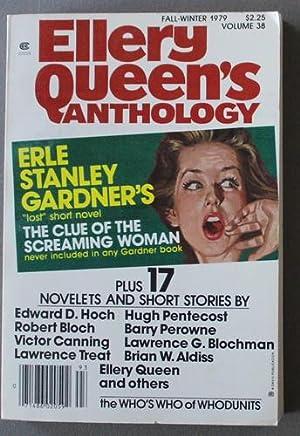 ELLERY QUEEN'S ANTHOLOGY (Digest Magazine) Vol.38, Fall/Winter: Erle Stanley Gardner;