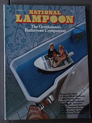 NATIONAL LAMPOON - THE GENTLEMAN'S BATHROOM COMPANION (Volume 1 #4; Winter 1975);