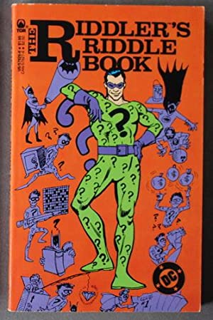 THE RIDDLER'S RIDDLE BOOK ( Joker on cover).