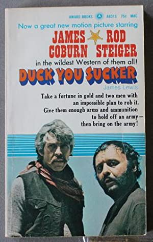 DUCK YOU SUCKER aka A Fistful Of Dynamite (1971; Award Book # A831S; Movie
