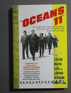 Ocean's 11 (Movie Tie-in Starring Frank Sinatra, Dean Martin, Sammy Davis Jr.); (Cardinal C-412)