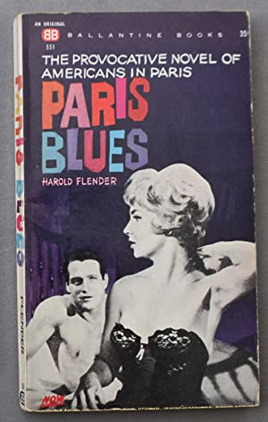 PARIS BLUES (Movie Tie-in Starring = Paul Newman, Joanne Woodward, Sidney Poitier ; # 551 );