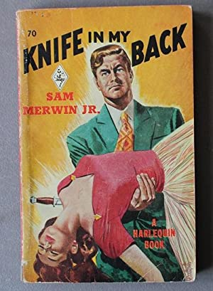 KNIFE IN MY BACK (book #70 in the Vinatage Harlequin Paperback Series)