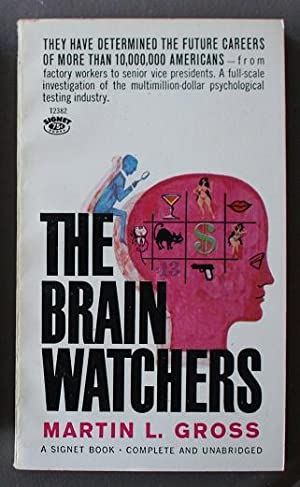 THE BRAIN WATCHERS (Signet Book T2382 )