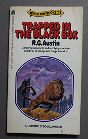 TRAPPED IN THE BLACK BOX. (Which Way Books #12)