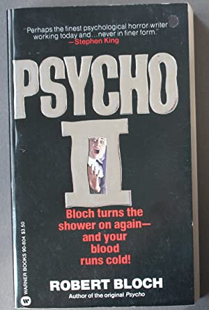 PSYCHO II. ( Film / Movie Adaption #2 / Two) Norman Bates; Autographed, Paperback Edition.