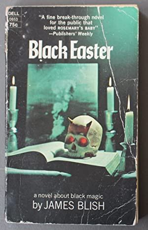 BLACK EASTER OR FAUST ALEPH-NULL. (Skull Photo Front Cover; Dell Book # 0653 );