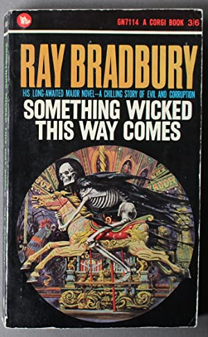 SOMETHING WICKED THIS WAY COMES. ( Corgi Books #GN7114; COLLECTION OF SHORT STORIES; Skeleton Cov...