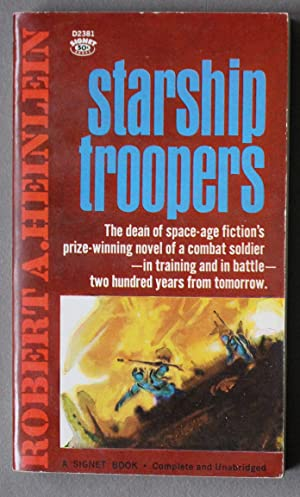 STARSHIP TROOPERS (Signet Book #D2381 )