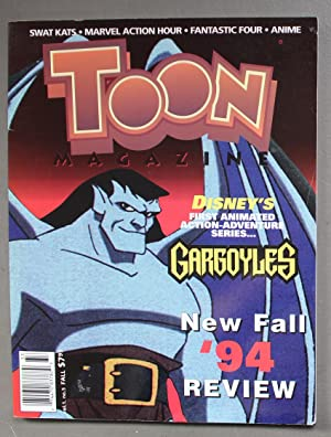 TOON MAGAZINE #5 (Fall/1994); Disney s Gargoyles, Spielberg s FREAKAZOID Preview; Batman and Robi...