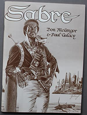 SABRE A COMIC NOVEL - ( Format Comics Graphic Novel Trade Paperback)