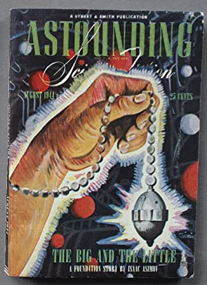 Astounding Science Fiction (DIGEST) August 1944 THE BIG AND THE LITTLE (aka The Merchant Princes;...
