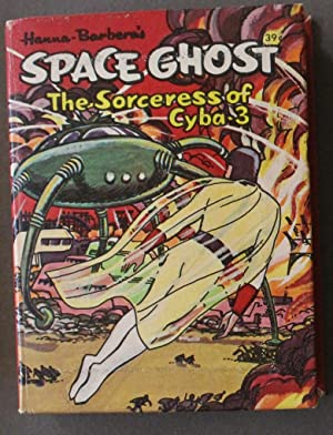 SPACE GHOST, SORCERESS OF CYBA-3; TV Cartoon; Hanna-Barbera (1968; Hardcover BIG LITTLE BOOK - BL...