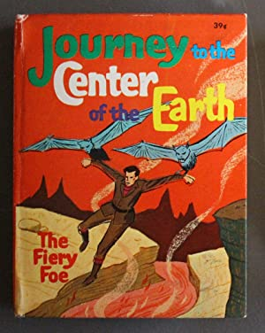 JOURNEY TO THE CENTER OF THE EARTH, THE FIERY FOE; TV Cartoon; (1968; Hardcover BIG LITTLE BOOK -...